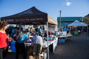 Vendor Booths at Ten Sleep Climbing Festival