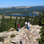 Hikers in the Bighorn Mountains