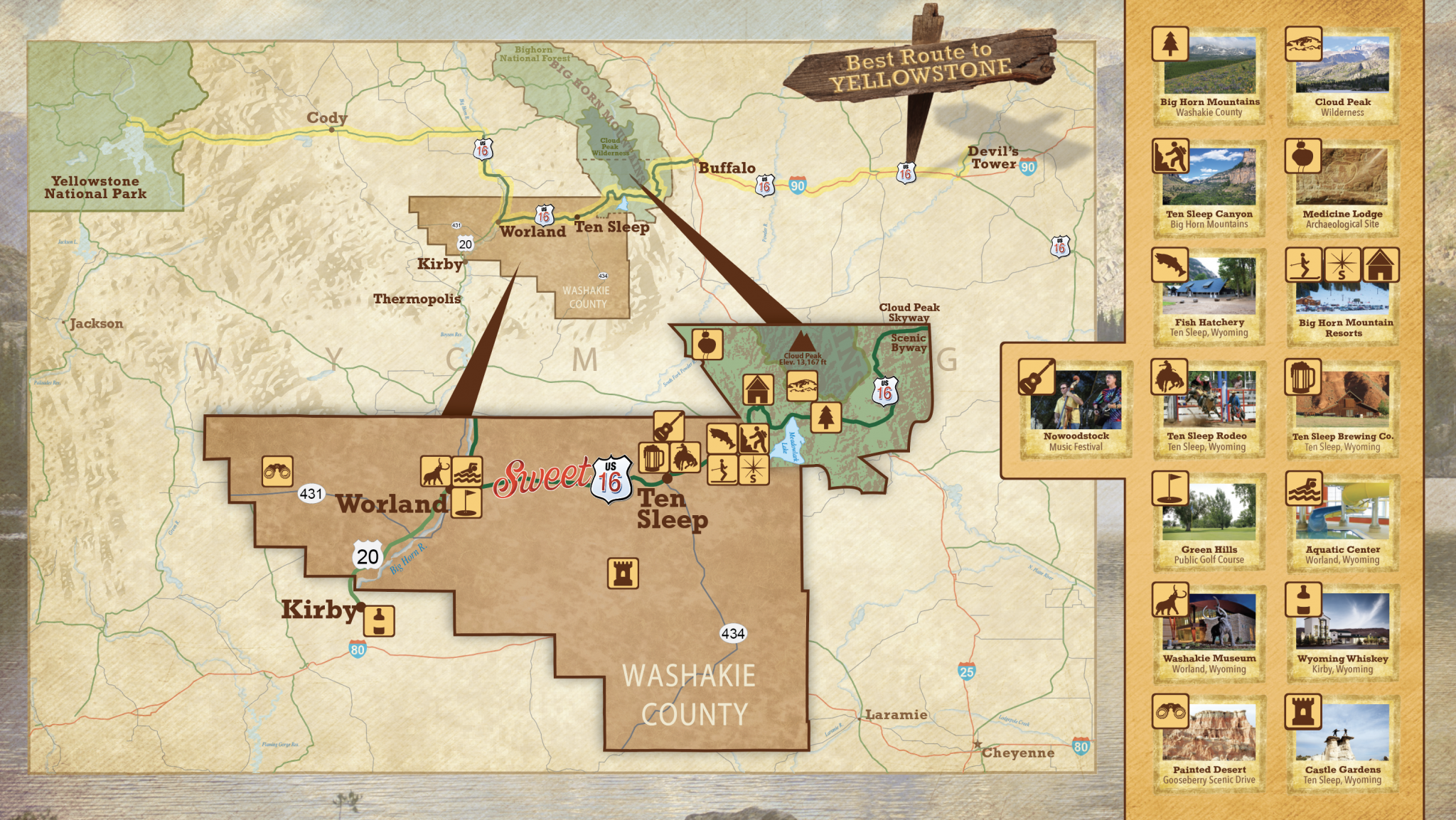 Maps – Bighorn Mountain Country