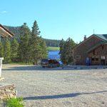 Meadowlark Lake Resort and Restauranton the way to Ten Sleep, Wyoming