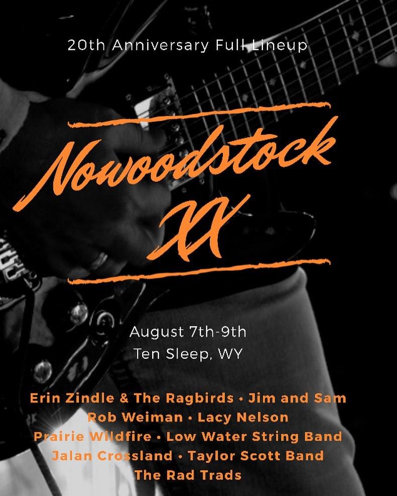 Nowoodstock Music Festival Poster